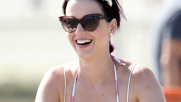 Katy Perry in bici a Venice Beach