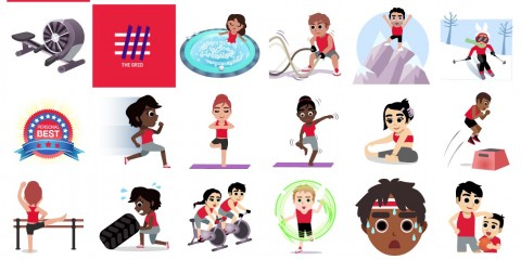 I forzutissimi #Emojivation di Virgin Active