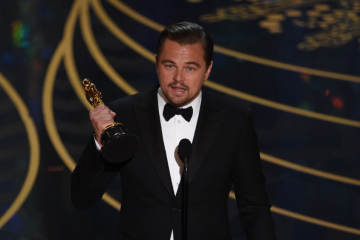 And the Oscar goes to... Leo!!