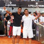 "vTotti don il tennista Djokovic per ""Tennis with Stars"""