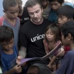 David Beckham in Swaziland