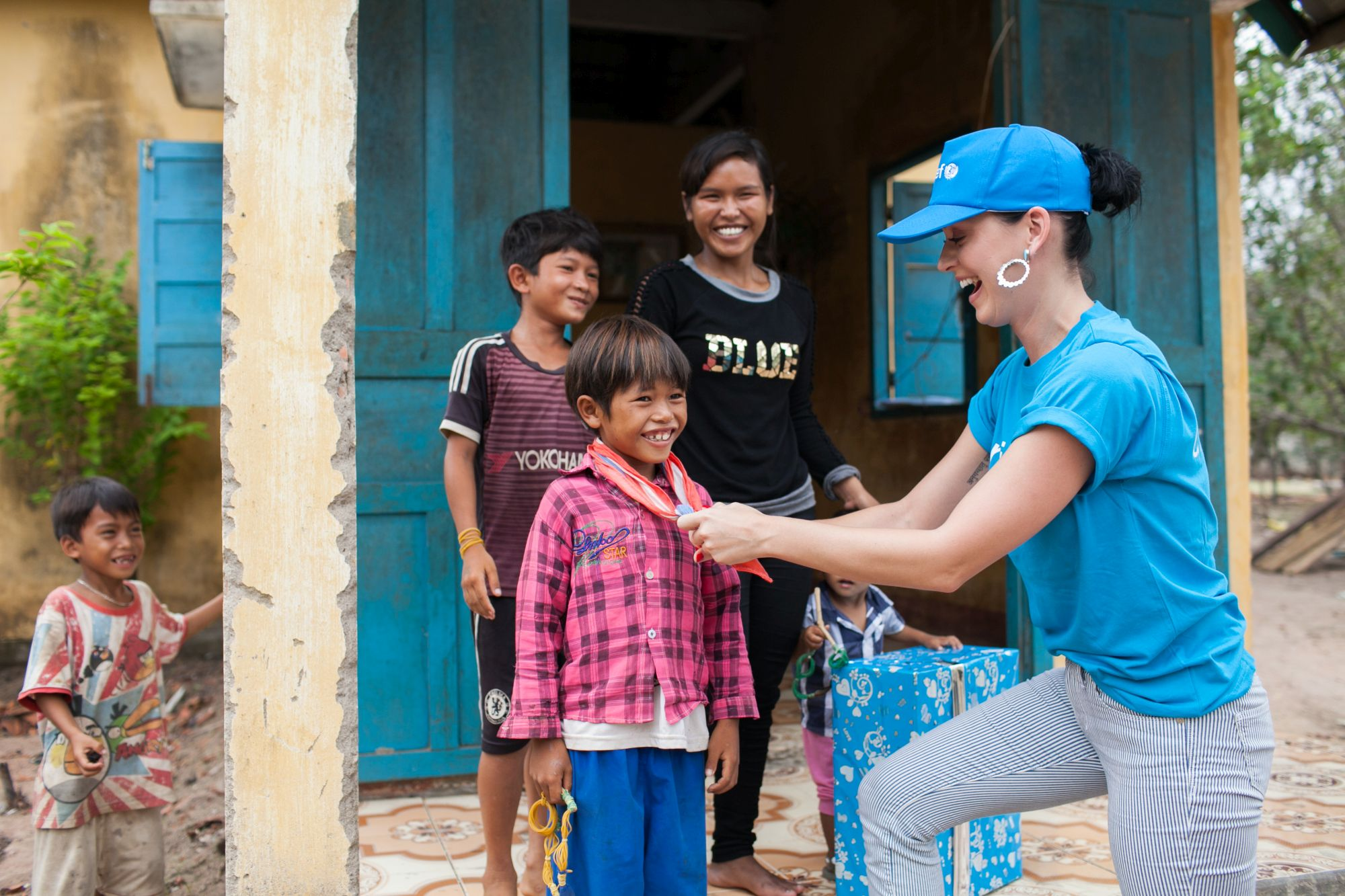 Katy Perry Goodwill Ambassador Unicef