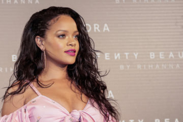 MADRID, SPAIN - SEPTEMBER 23: Rihanna attends Rihanna Fenty Beauty by Sephora Presentacion in Madrid on September 23, 2017 in Madrid, Spain. (Photo by Miguel Pereira/Getty Images)