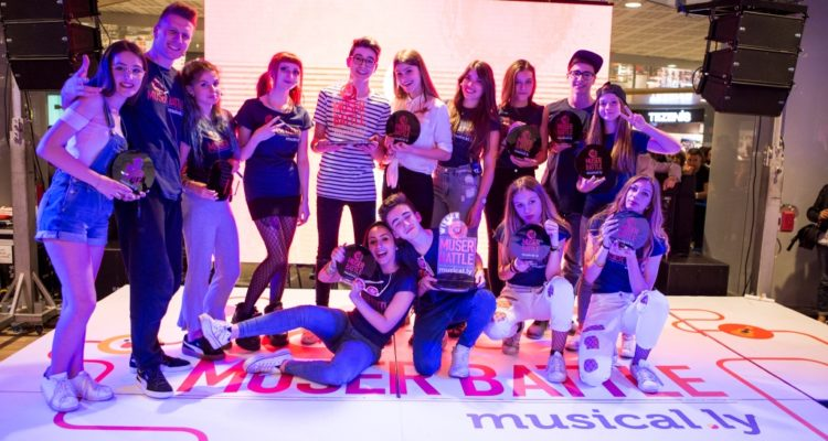 Tutte pronte per la finale di The Muser Battle Tour by Musical.ly