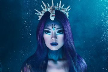Perfidious Mermaid, il make up Wycon cosmetics che ti trasforma in una perfida sirena per Halloween