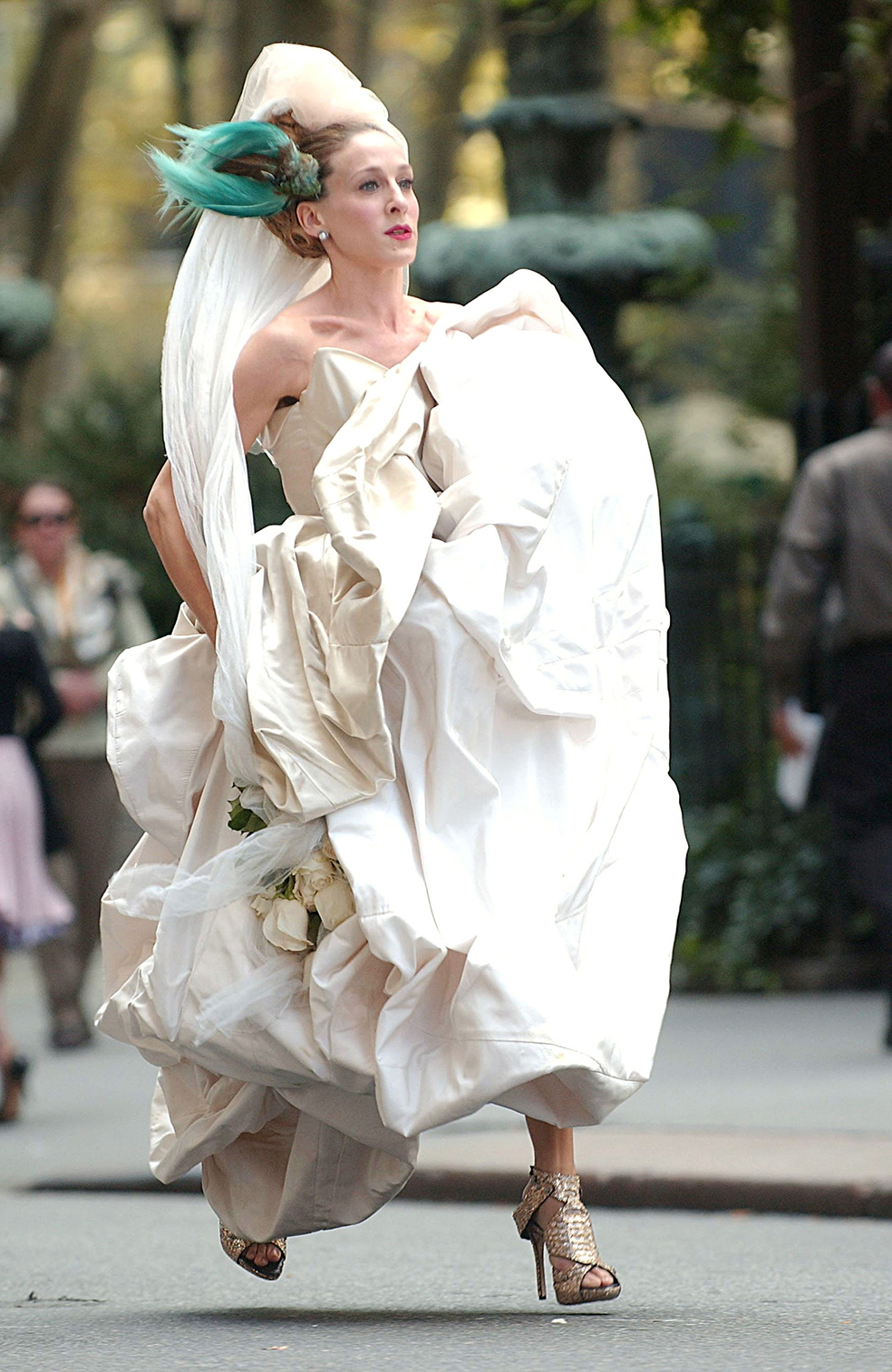 Il wedding dress firmato Vivienne Westwood indossato da Carrie per il suo matrimonio con Mister Big