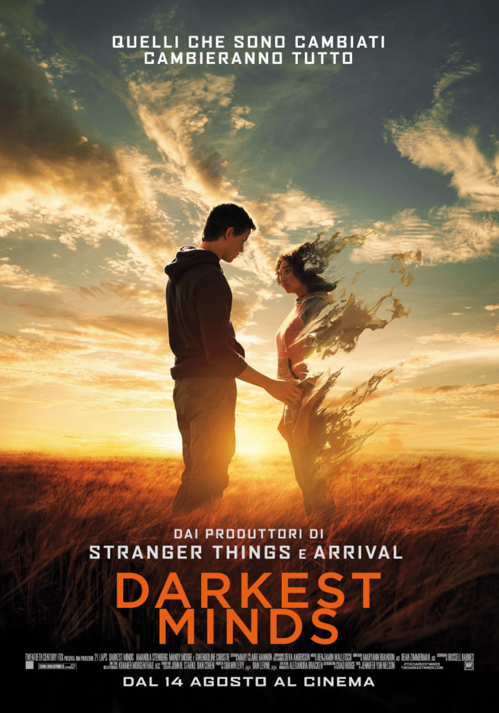 Il poster di Darkest Minds