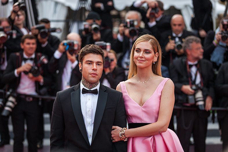The Ferragnez all'ultimo Festival del Cinema di Cannes