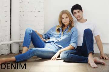 Jeans, jeans delle mie brame... ecco le 5 tendenze più cool del reame. Immagine campagna Tally Weijl dal sito www.tally-weijl.com