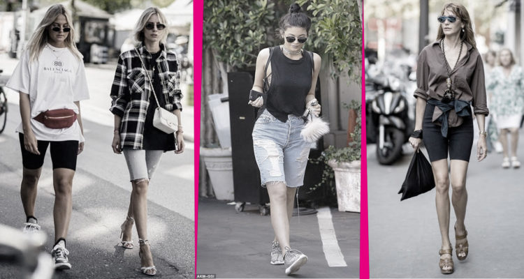Biker shorts: la tendenza hot dell'estate 2019